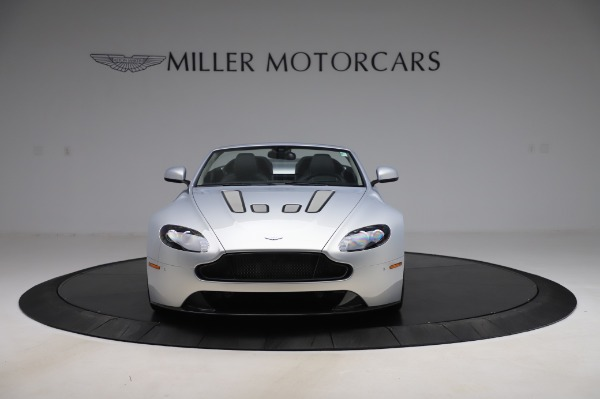 Used 2017 Aston Martin V12 Vantage S Roadster for sale Sold at Alfa Romeo of Greenwich in Greenwich CT 06830 3
