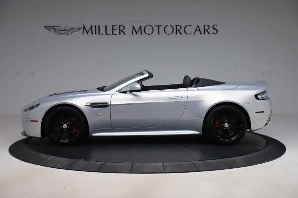 Used 2017 Aston Martin V12 Vantage S Roadster for sale Sold at Alfa Romeo of Greenwich in Greenwich CT 06830 4