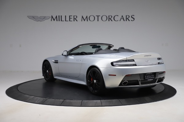 Used 2017 Aston Martin V12 Vantage S Roadster for sale Sold at Alfa Romeo of Greenwich in Greenwich CT 06830 6