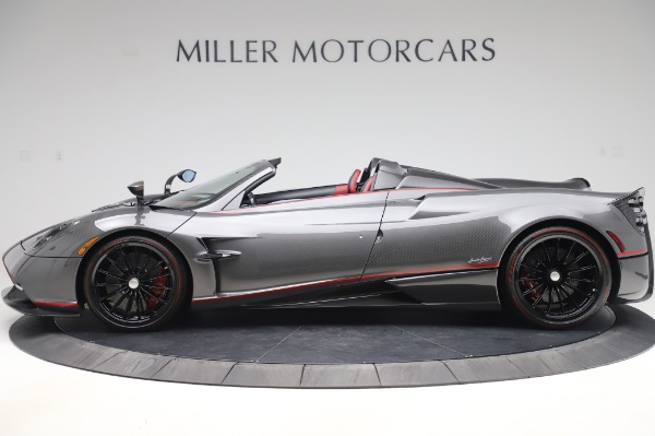 Used 2017 Pagani Huayra Roadster for sale Call for price at Alfa Romeo of Greenwich in Greenwich CT 06830 3