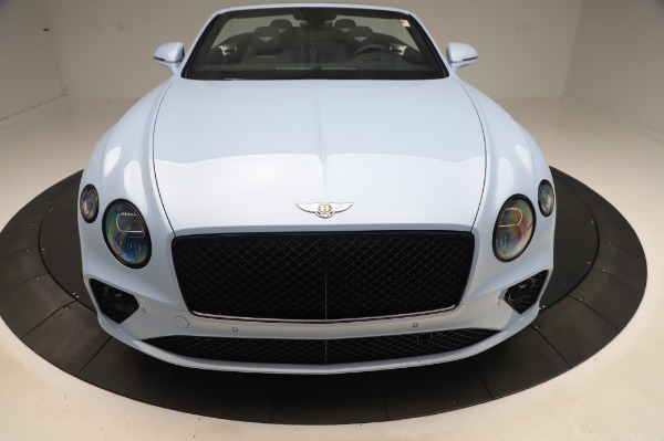 New 2020 Bentley Continental GTC V8 for sale $280,475 at Alfa Romeo of Greenwich in Greenwich CT 06830 12