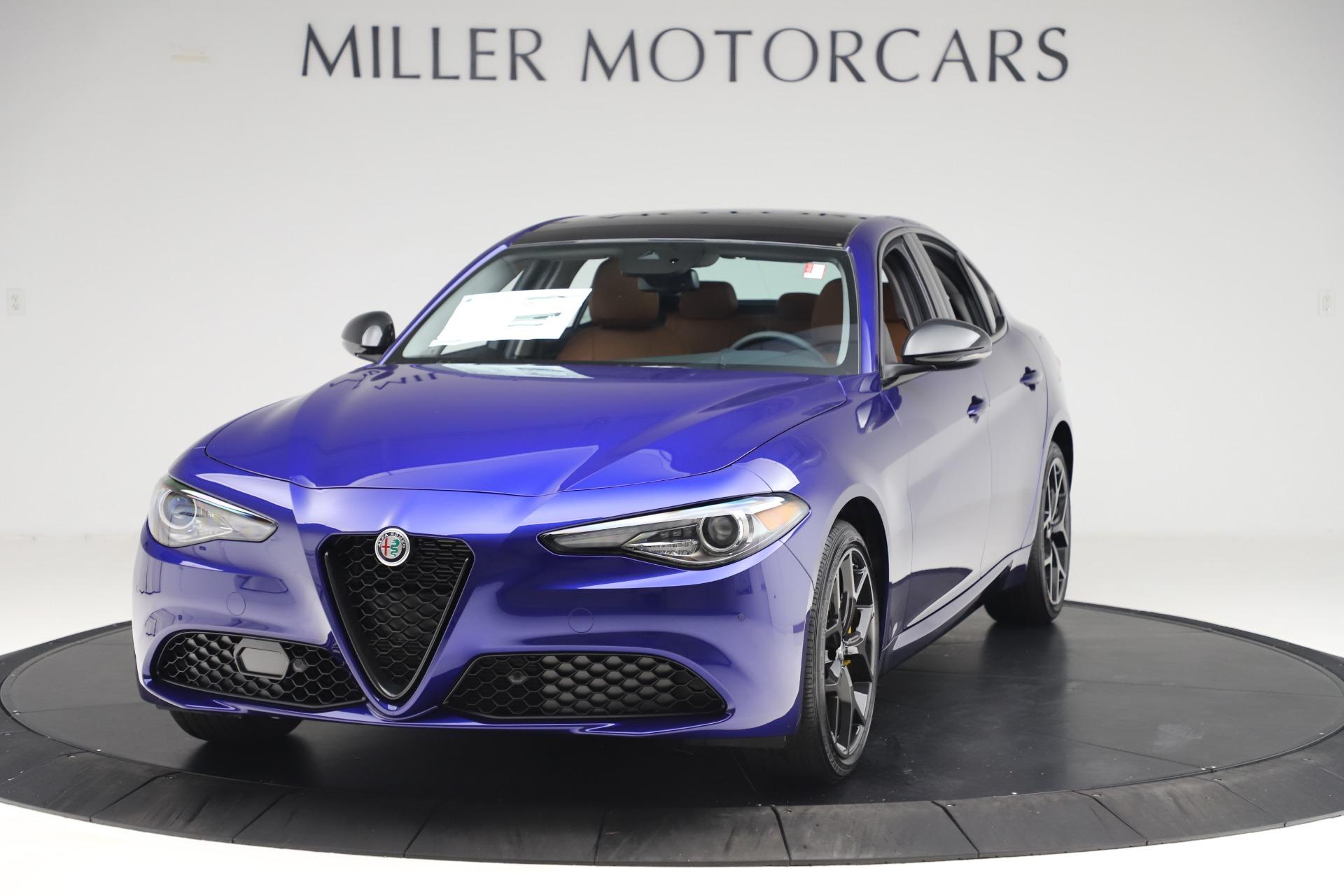 New 2020 Alfa Romeo Giulia Ti Q4 for sale Sold at Alfa Romeo of Greenwich in Greenwich CT 06830 1