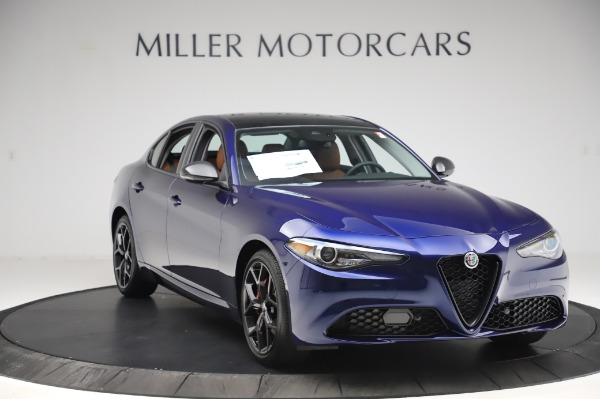 New 2020 Alfa Romeo Giulia Q4 for sale $42,845 at Alfa Romeo of Greenwich in Greenwich CT 06830 10