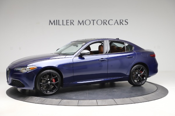 New 2020 Alfa Romeo Giulia Q4 for sale $42,845 at Alfa Romeo of Greenwich in Greenwich CT 06830 2