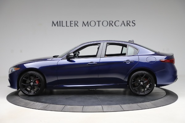 New 2020 Alfa Romeo Giulia Q4 for sale $42,845 at Alfa Romeo of Greenwich in Greenwich CT 06830 3
