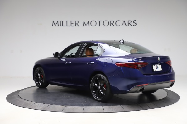 New 2020 Alfa Romeo Giulia Q4 for sale $42,845 at Alfa Romeo of Greenwich in Greenwich CT 06830 4