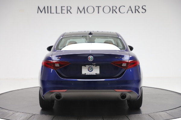 New 2020 Alfa Romeo Giulia Q4 for sale $42,845 at Alfa Romeo of Greenwich in Greenwich CT 06830 5