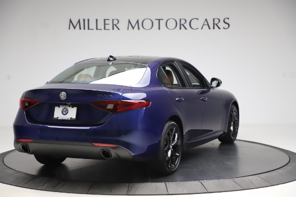 New 2020 Alfa Romeo Giulia Q4 for sale $42,845 at Alfa Romeo of Greenwich in Greenwich CT 06830 6