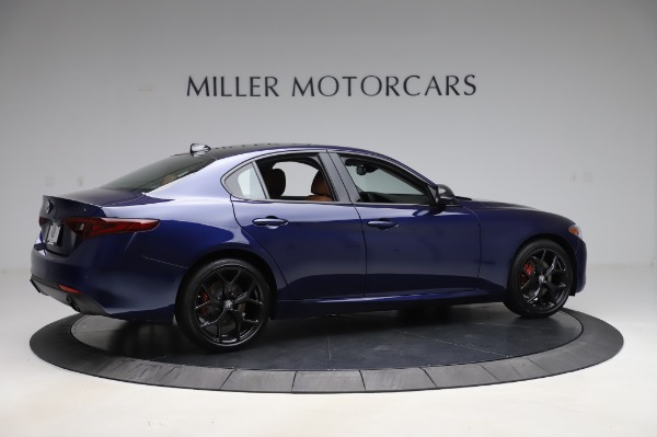 New 2020 Alfa Romeo Giulia Q4 for sale $42,845 at Alfa Romeo of Greenwich in Greenwich CT 06830 7