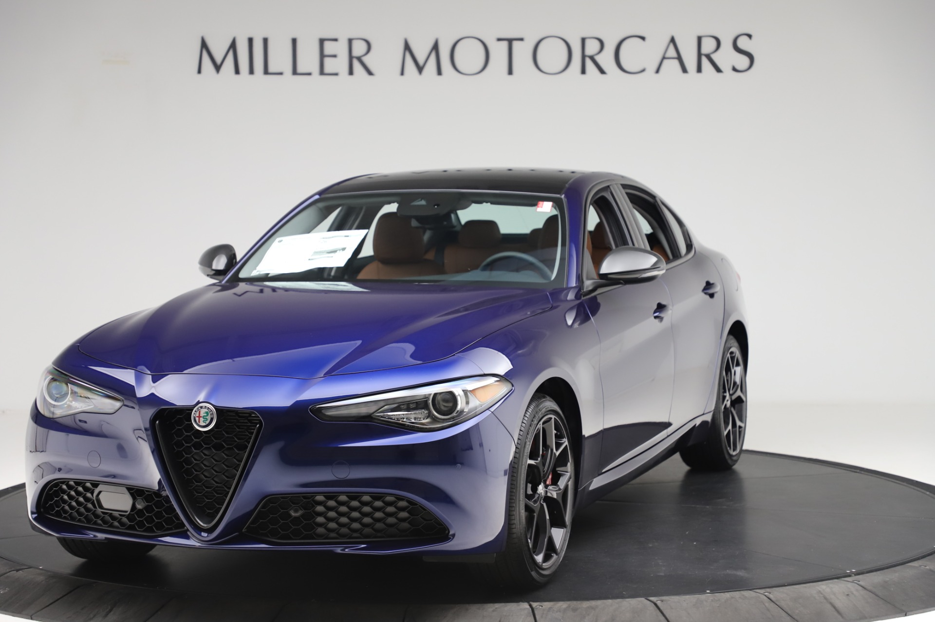 New 2020 Alfa Romeo Giulia Q4 for sale $42,845 at Alfa Romeo of Greenwich in Greenwich CT 06830 1