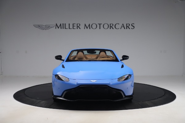 New 2021 Aston Martin Vantage Roadster for sale Call for price at Alfa Romeo of Greenwich in Greenwich CT 06830 11