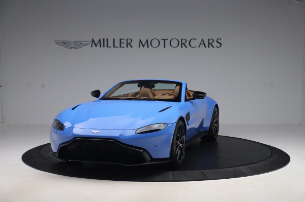 New 2021 Aston Martin Vantage Roadster for sale Call for price at Alfa Romeo of Greenwich in Greenwich CT 06830 12