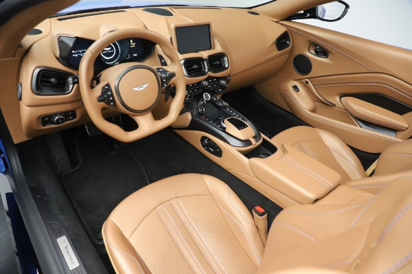 New 2021 Aston Martin Vantage Roadster for sale Call for price at Alfa Romeo of Greenwich in Greenwich CT 06830 13
