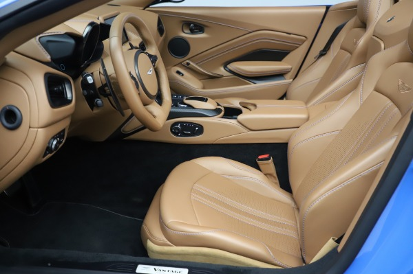 New 2021 Aston Martin Vantage Roadster for sale Call for price at Alfa Romeo of Greenwich in Greenwich CT 06830 14