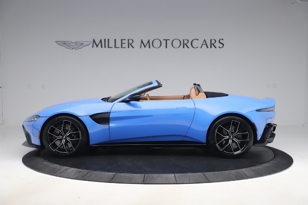 New 2021 Aston Martin Vantage Roadster for sale Call for price at Alfa Romeo of Greenwich in Greenwich CT 06830 2
