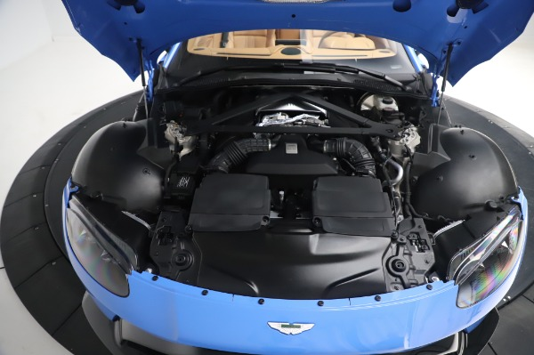 New 2021 Aston Martin Vantage Roadster for sale Call for price at Alfa Romeo of Greenwich in Greenwich CT 06830 23