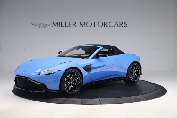 New 2021 Aston Martin Vantage Roadster for sale Call for price at Alfa Romeo of Greenwich in Greenwich CT 06830 26