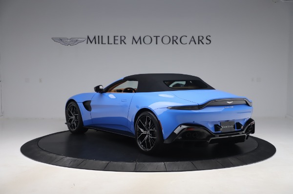 New 2021 Aston Martin Vantage Roadster for sale Call for price at Alfa Romeo of Greenwich in Greenwich CT 06830 28