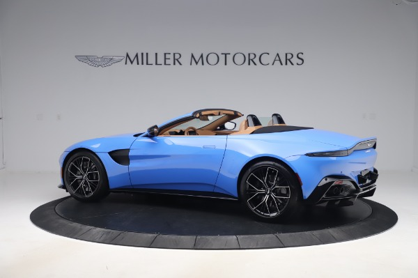 New 2021 Aston Martin Vantage Roadster for sale Call for price at Alfa Romeo of Greenwich in Greenwich CT 06830 3