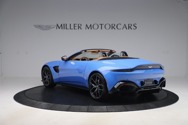 New 2021 Aston Martin Vantage Roadster for sale Call for price at Alfa Romeo of Greenwich in Greenwich CT 06830 4