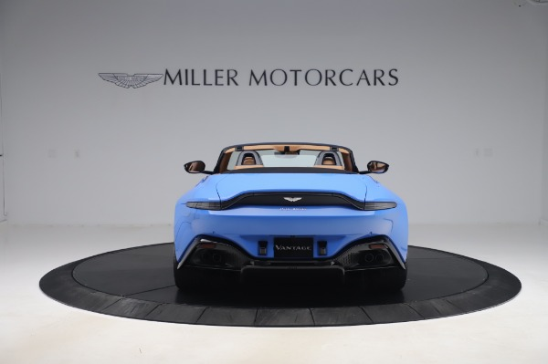 New 2021 Aston Martin Vantage Roadster for sale Call for price at Alfa Romeo of Greenwich in Greenwich CT 06830 5
