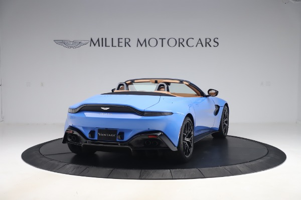 New 2021 Aston Martin Vantage Roadster for sale Call for price at Alfa Romeo of Greenwich in Greenwich CT 06830 6