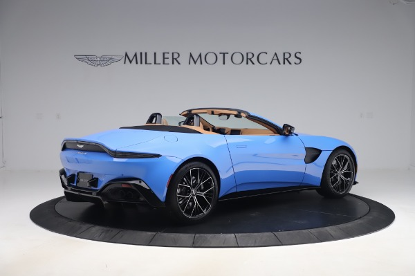 New 2021 Aston Martin Vantage Roadster for sale Call for price at Alfa Romeo of Greenwich in Greenwich CT 06830 7