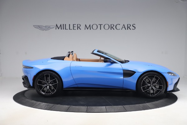 New 2021 Aston Martin Vantage Roadster for sale Call for price at Alfa Romeo of Greenwich in Greenwich CT 06830 8