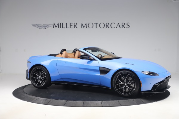 New 2021 Aston Martin Vantage Roadster for sale Call for price at Alfa Romeo of Greenwich in Greenwich CT 06830 9