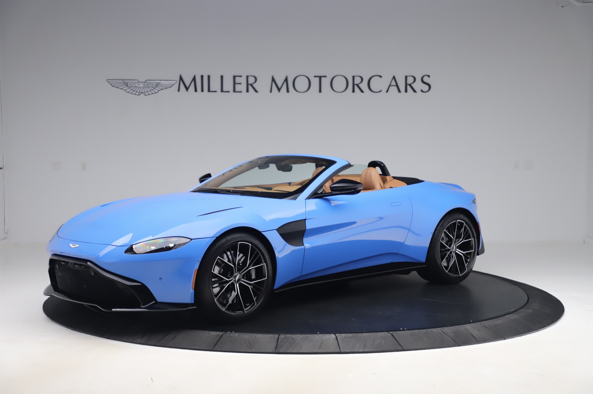New 2021 Aston Martin Vantage Roadster for sale Call for price at Alfa Romeo of Greenwich in Greenwich CT 06830 1