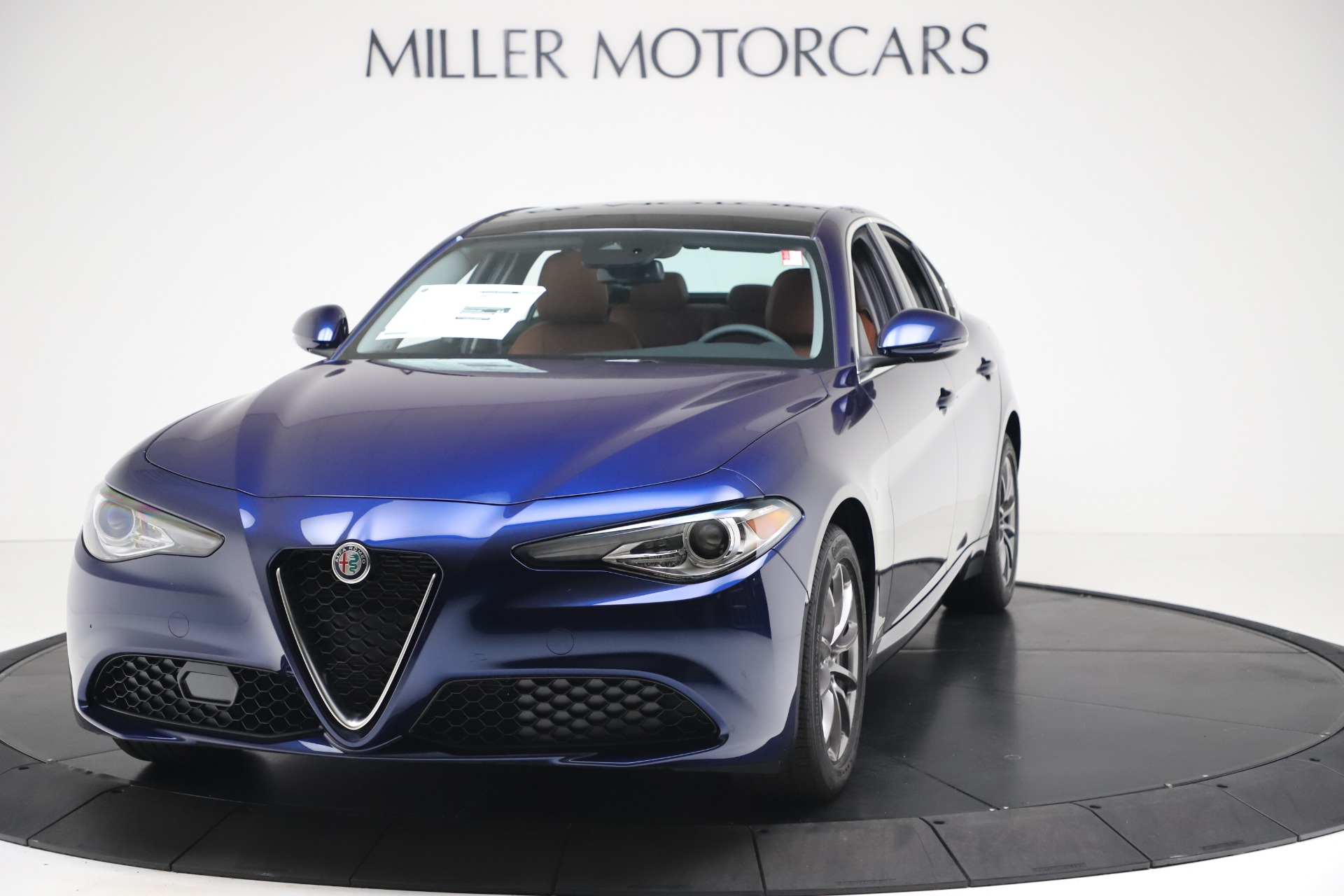 New 2020 Alfa Romeo Giulia Q4 for sale $45,445 at Alfa Romeo of Greenwich in Greenwich CT 06830 1