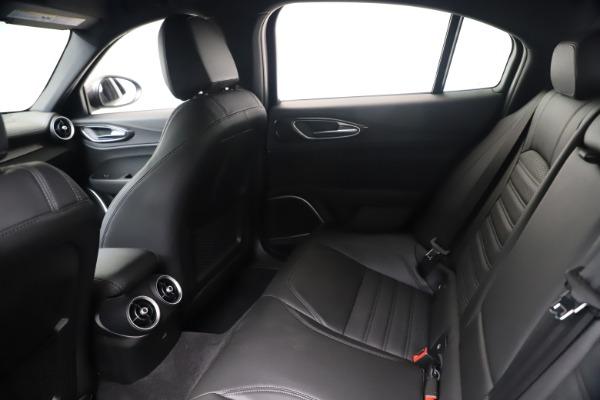 New 2020 Alfa Romeo Giulia Ti Sport Carbon Q4 for sale $51,640 at Alfa Romeo of Greenwich in Greenwich CT 06830 19