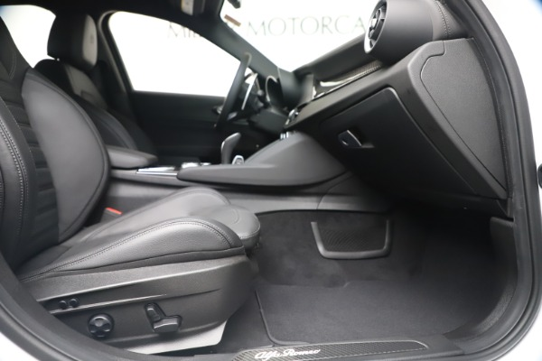 New 2020 Alfa Romeo Giulia Ti Sport Carbon Q4 for sale $51,640 at Alfa Romeo of Greenwich in Greenwich CT 06830 22