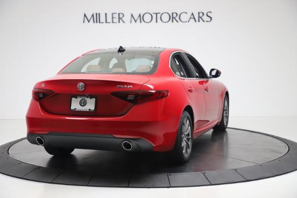 New 2020 Alfa Romeo Giulia Q4 for sale $44,845 at Alfa Romeo of Greenwich in Greenwich CT 06830 7