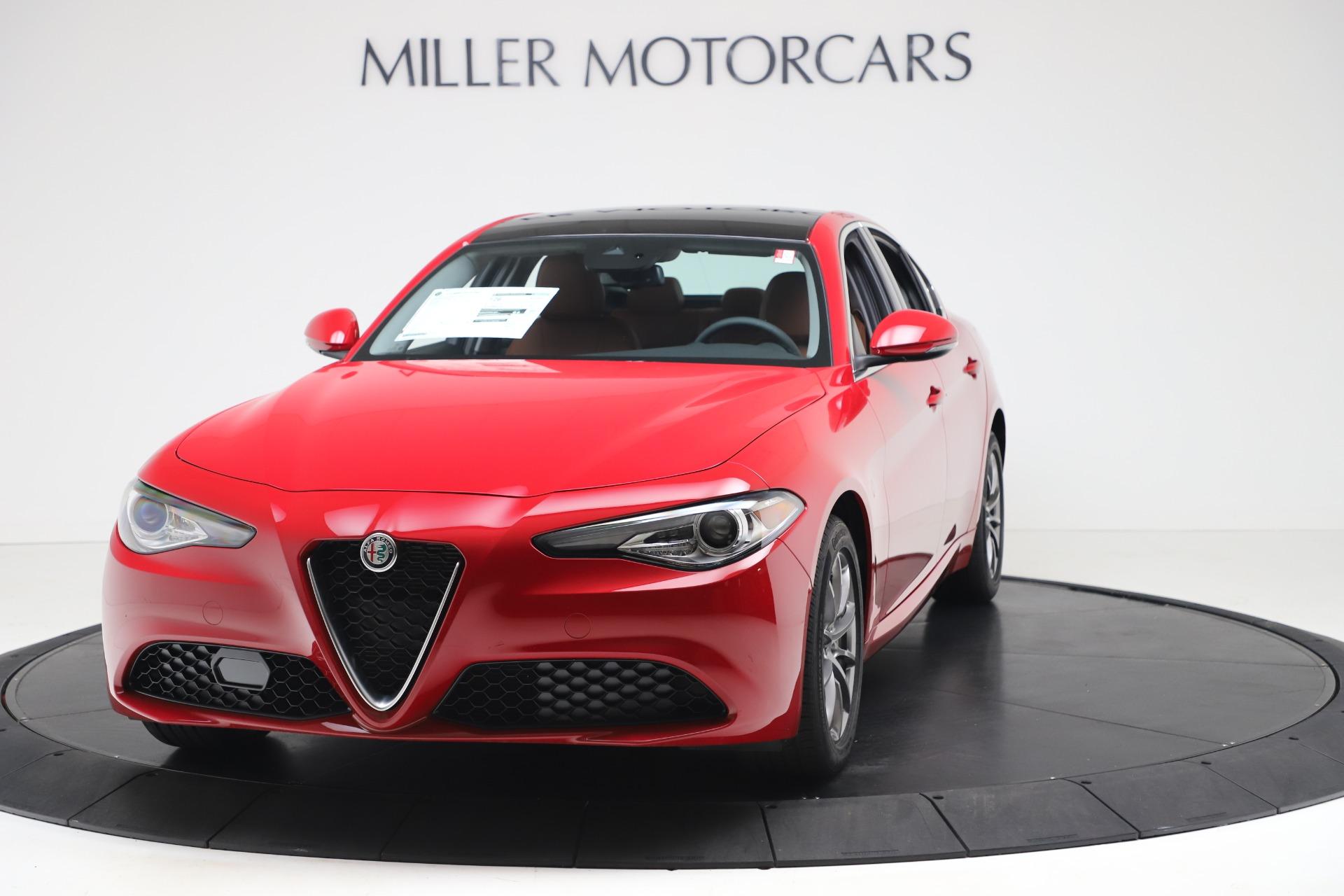 New 2020 Alfa Romeo Giulia Q4 for sale $44,845 at Alfa Romeo of Greenwich in Greenwich CT 06830 1