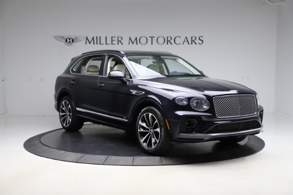New 2021 Bentley Bentayga V8 for sale $205,540 at Alfa Romeo of Greenwich in Greenwich CT 06830 11