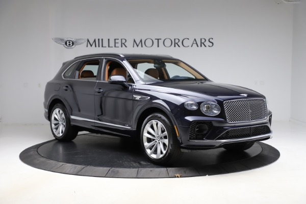 New 2021 Bentley Bentayga V8 for sale $203,205 at Alfa Romeo of Greenwich in Greenwich CT 06830 11