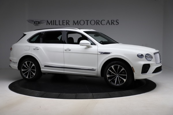 New 2021 Bentley Bentayga V8 for sale $207,765 at Alfa Romeo of Greenwich in Greenwich CT 06830 10