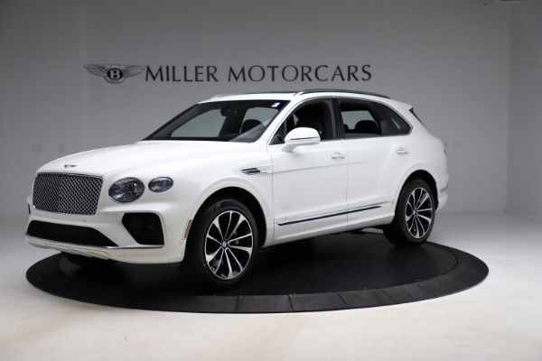 New 2021 Bentley Bentayga V8 for sale $207,765 at Alfa Romeo of Greenwich in Greenwich CT 06830 2