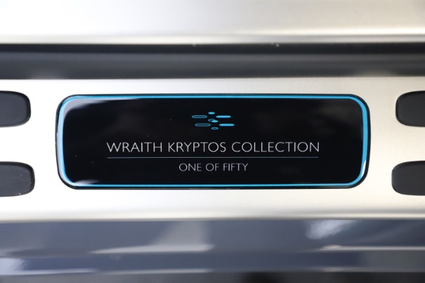 New 2021 Rolls-Royce Wraith KRYPTOS for sale $450,550 at Alfa Romeo of Greenwich in Greenwich CT 06830 26