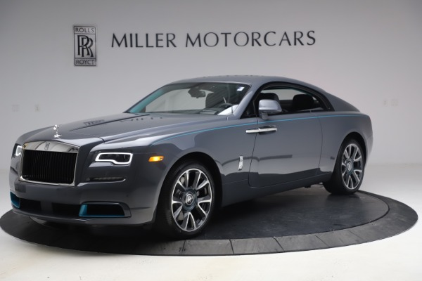 New 2021 Rolls-Royce Wraith KRYPTOS for sale $450,550 at Alfa Romeo of Greenwich in Greenwich CT 06830 3