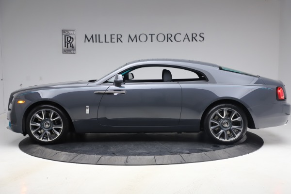 New 2021 Rolls-Royce Wraith KRYPTOS for sale $450,550 at Alfa Romeo of Greenwich in Greenwich CT 06830 4