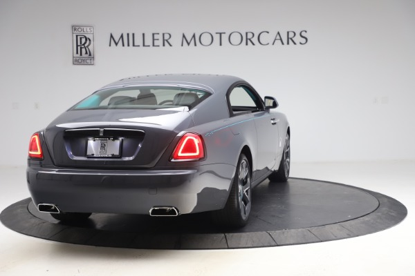 New 2021 Rolls-Royce Wraith KRYPTOS for sale $450,550 at Alfa Romeo of Greenwich in Greenwich CT 06830 8