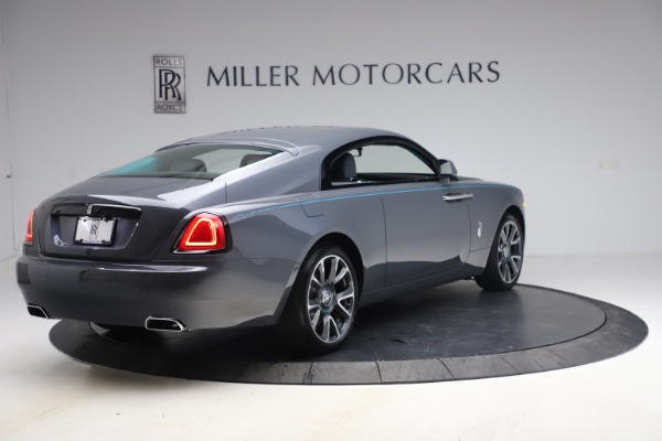 New 2021 Rolls-Royce Wraith KRYPTOS for sale $450,550 at Alfa Romeo of Greenwich in Greenwich CT 06830 9