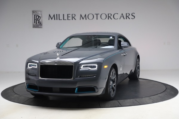 New 2021 Rolls-Royce Wraith KRYPTOS for sale $450,550 at Alfa Romeo of Greenwich in Greenwich CT 06830 1