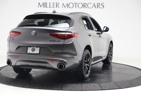 New 2020 Alfa Romeo Stelvio Ti Sport Q4 for sale Sold at Alfa Romeo of Greenwich in Greenwich CT 06830 7