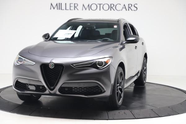 New 2020 Alfa Romeo Stelvio Ti Sport Q4 for sale $55,995 at Alfa Romeo of Greenwich in Greenwich CT 06830 1