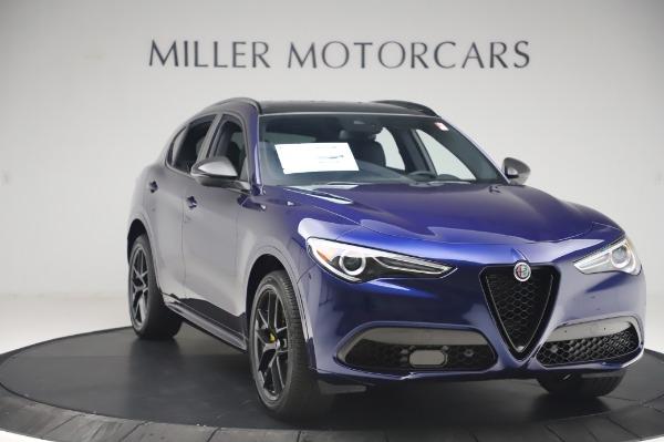 New 2020 Alfa Romeo Stelvio Ti Sport Q4 for sale $55,995 at Alfa Romeo of Greenwich in Greenwich CT 06830 11