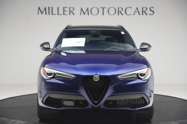 New 2020 Alfa Romeo Stelvio Ti Sport Q4 for sale $55,995 at Alfa Romeo of Greenwich in Greenwich CT 06830 12