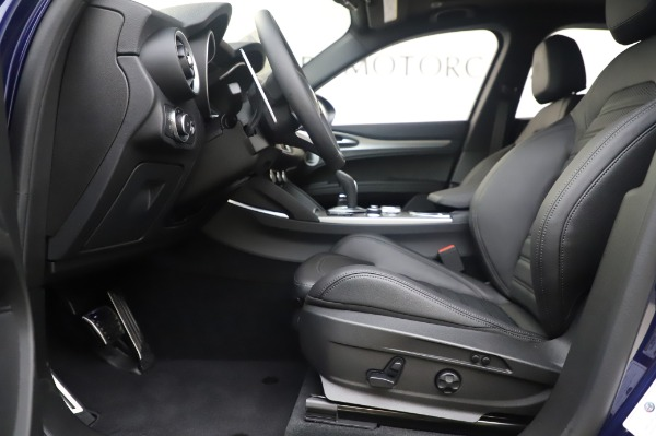 New 2020 Alfa Romeo Stelvio Ti Sport Q4 for sale $55,995 at Alfa Romeo of Greenwich in Greenwich CT 06830 14